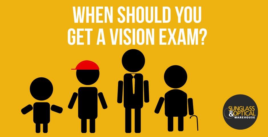 When Should You Get A Vision Exam?