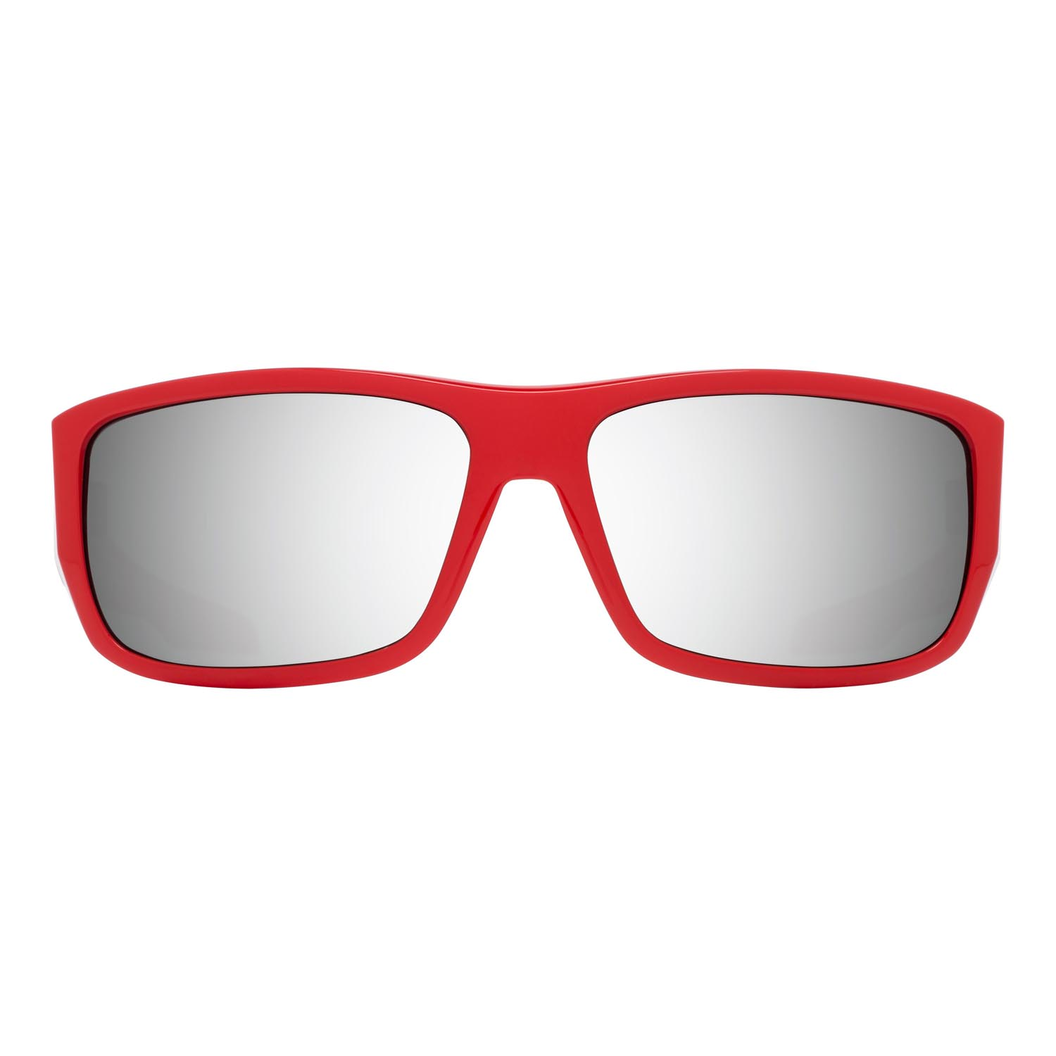 Spy Sunglasses MC3 in classic red with gray silver mirror lenses
